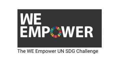THE WE EMPOWER UN SDG CHALLENGE