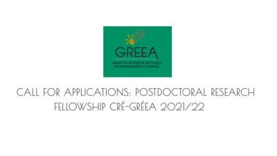 CRÉ-GRÉEA POSTDOCTORAL RESEARCH FELLOWSHIP