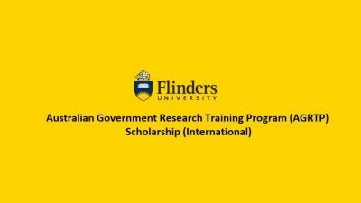 Flinders University: Australian Government Research Training Program Scholarship