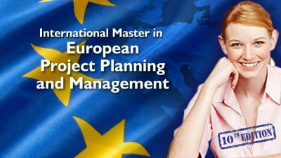 International Master in European Project Planning and Management 10th Edition, Onsite and Online