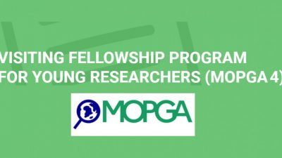 MOPGA 4: MEAE/MESRI Visiting Fellowship Program 2021 for Young Researchers
